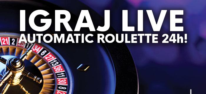 live automatic roulette